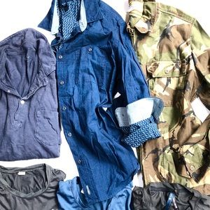 New J Crew size medium shirt set